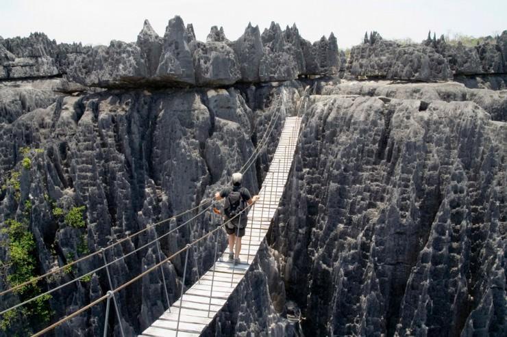 مخروطهای تیز در ماداگاسکار