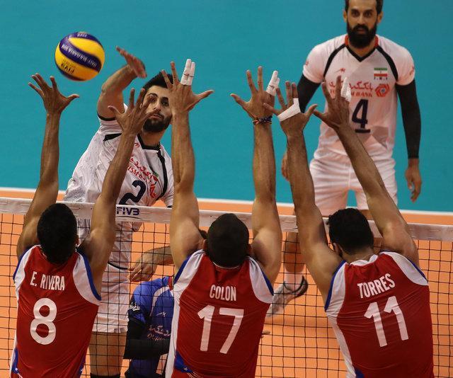 شروع مقتدرانه والیبال ایران در قهرمانی دنیا با شکست پورتوریکو
