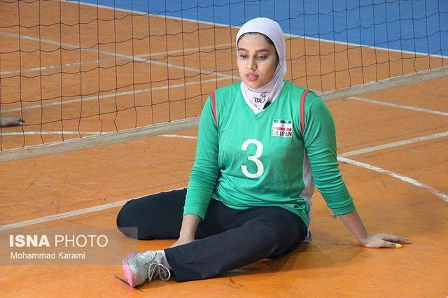 فرزانه حیدری: می خواهم بهترین بازیکن والیبال نشسته دنیا شوم