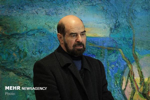 حبیب الله صادقی به گروه هنرهای تجسمی فرهنگستان هنر پیوست