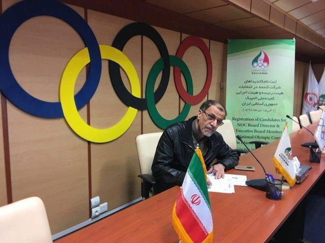 خسروی وفا هم بالاخره برای انتخابات پارالمپیک ثبت نام کرد