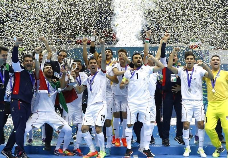 تیم های ملی آقایان و بانوان فوتسال ایران در میان 10 تیم ملی برتر دنیا