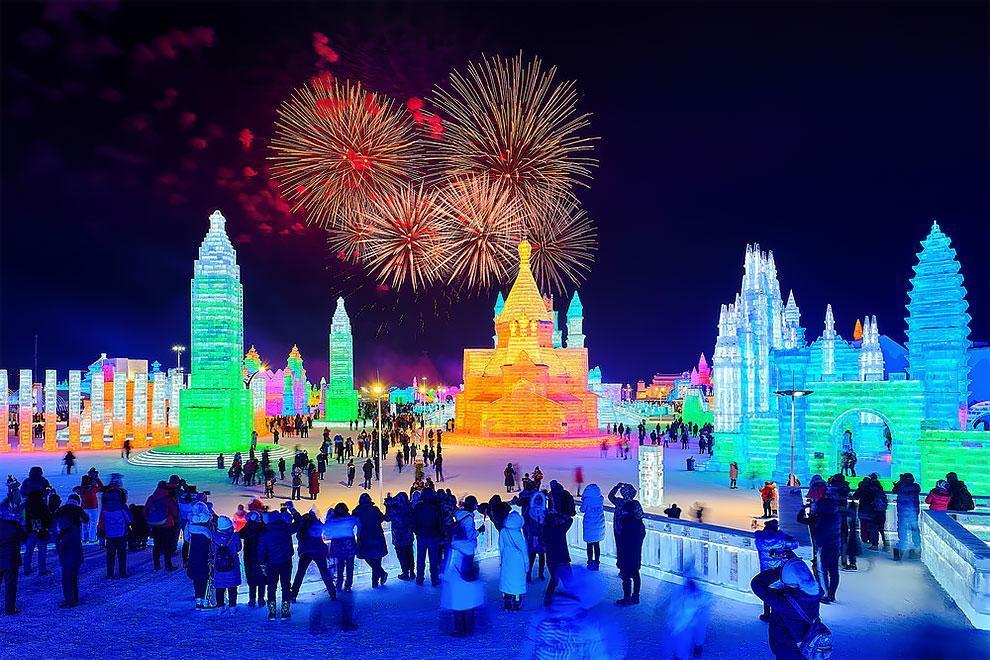 فستیوال برف و یخ هاربین 2019