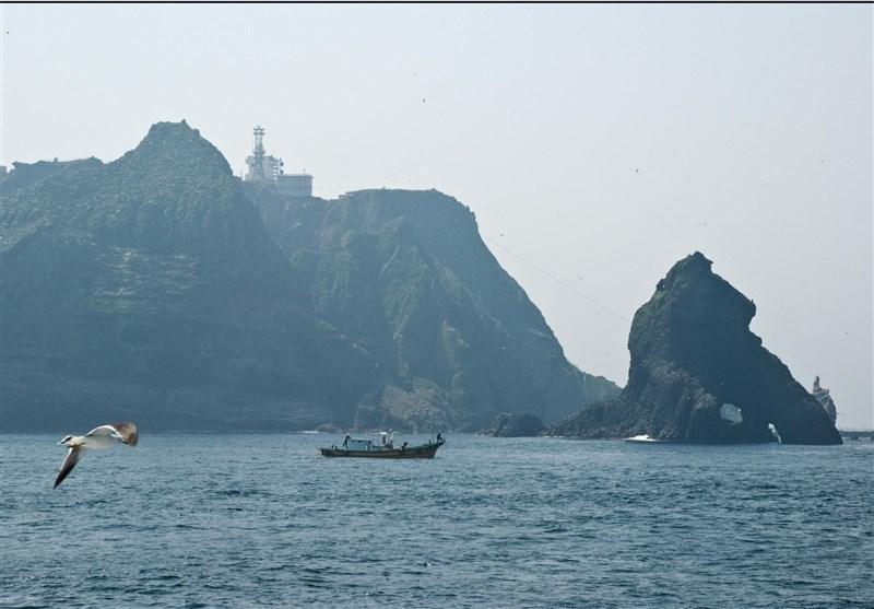 مانور ارتش کره جنوبی در جزایر مورد مناقشه با ژاپن