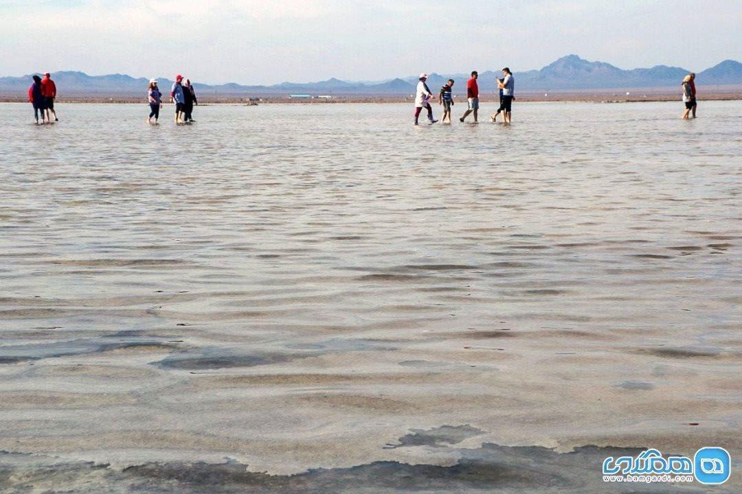 حوض سلطان، بزرگترین دریاچه نمکی ایران