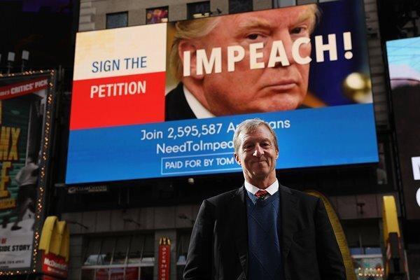 مخالفت نمایندگان دموکرات از ایالات چرخشی آمریکا با استیضاح ترامپ
