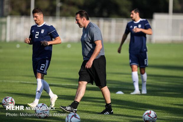 ورود بازیکنان تیم ملی فوتبال به اردوی آماده سازی