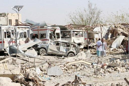 طالبان ، حمله انتحاری در جنوب افغانستان با حدود 100 کشته و زخمی