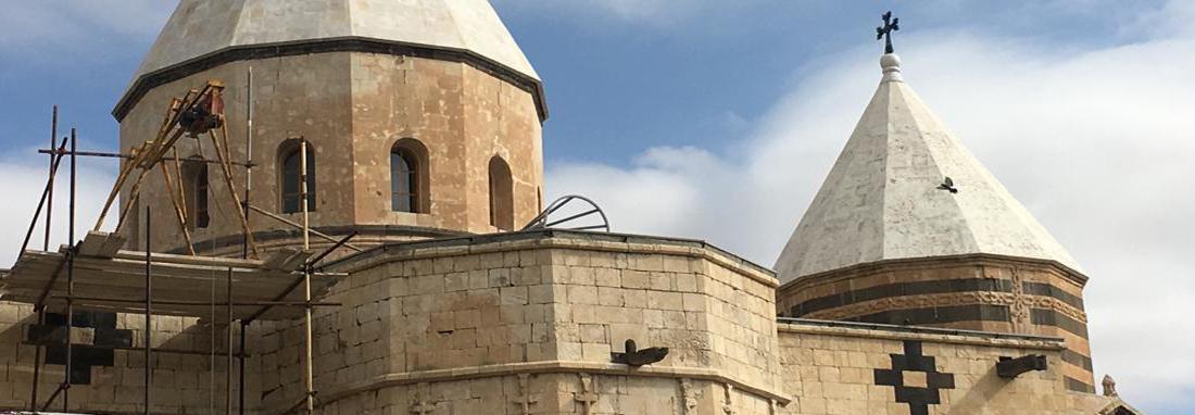 مرمت کلیسای تادئوس مقدس منطبق با استانداردهای یونسکو است
