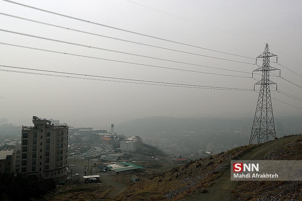 کاهش موقتی کیفیت هوا در بعضی مناطق تهران
