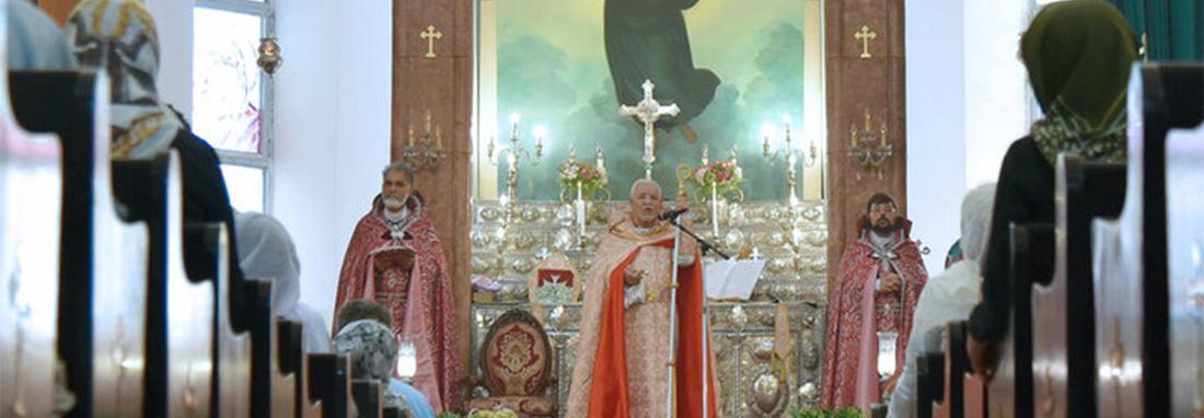 تصاویر مراسم عید عروج حضرت مریم در کلیسای تاریخی مریم مقدس ، ویژگی های منحصربفرد کلیسای مریم مقدس در تهران