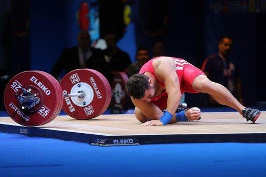 توضیح فدراسیون وزنه برداری درخصوص حضور کیانوش رستمی در المپیک 2020