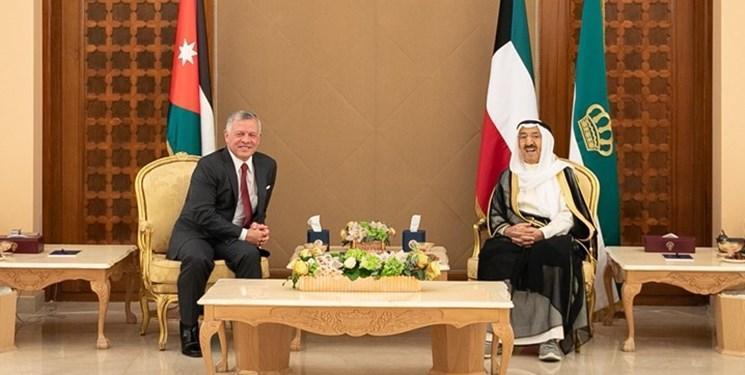 گفت وگوی تلفنی شاه اردن و امیر کویت