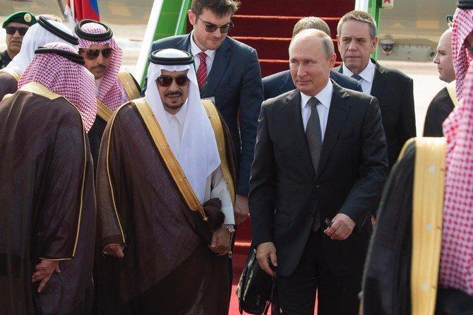 فیلم ، پوتین به پادشاه عربستان چه هدیه ای داد؟