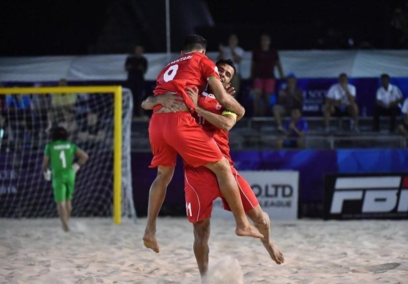 بازی های جهانی ساحلی، صعود ساحلی بازان ایران به نیمه نهایی با فزونی مقابل پاراگوئه