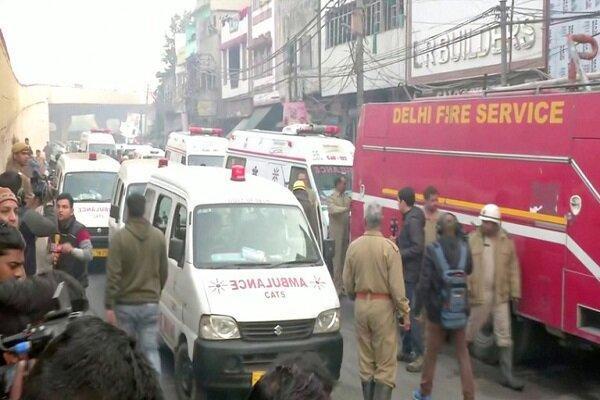 آتش سوزی در هند 43 کشته برجای گذاشت