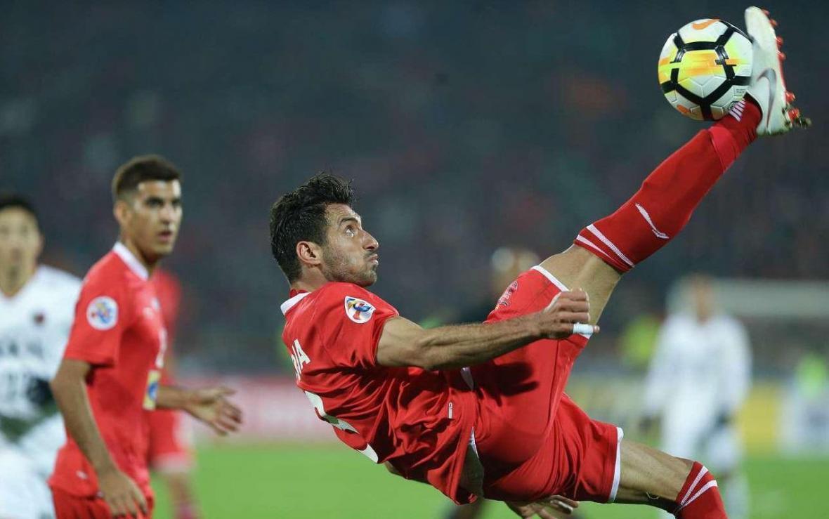گل شجاع خلیل زاده در رده دوم برترین گل فصل لیگ قهرمانان