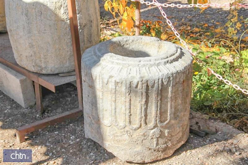 اهدای بخشی از یک ستون هخامنشی به موزه فرهنگ فسا