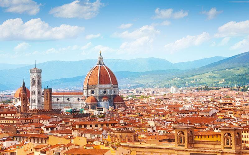 میدان دومو، مرکزی ترین نقطه تاریخی شهر فلورانس در ایتالیا