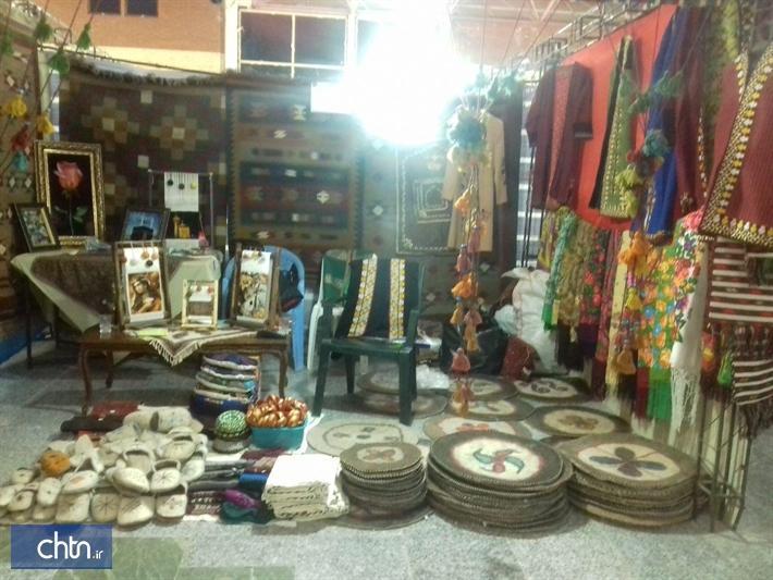 حضور هنرمندان گلستانی در نمایشگاه صنایع دستی خراسان جنوبی