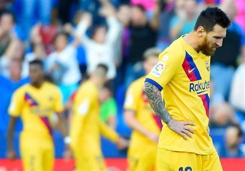 دردسر ویروس کرونا برای بارسلونا در سفر به خانه ناپولی، سرخی روبرتو بازی را از دست داد