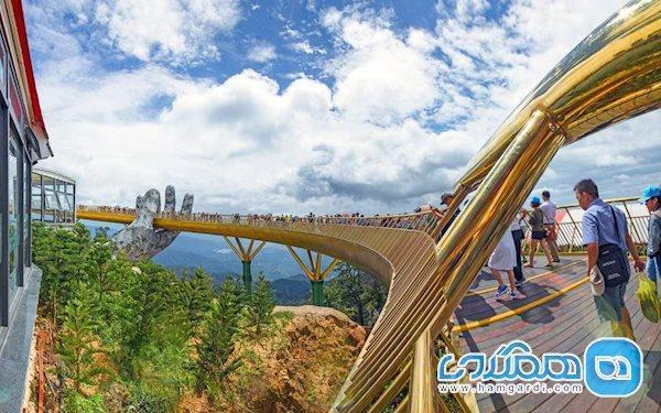 معماری پل طلایی، پلی ساخته شده بر روی دو دست