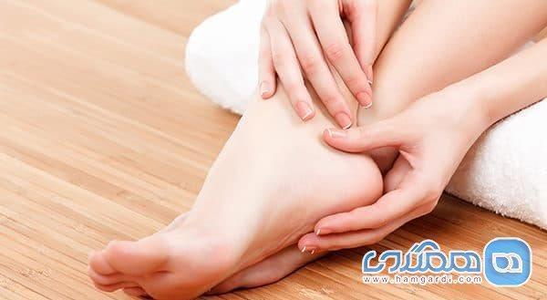 خارش کف پا به چه عللی اتفاق می افتد؟