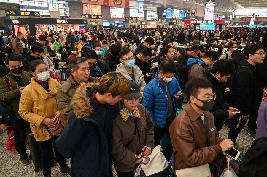 ورود شهروندان کشورهای مبتلا به کرونا به چین ممنوع می گردد