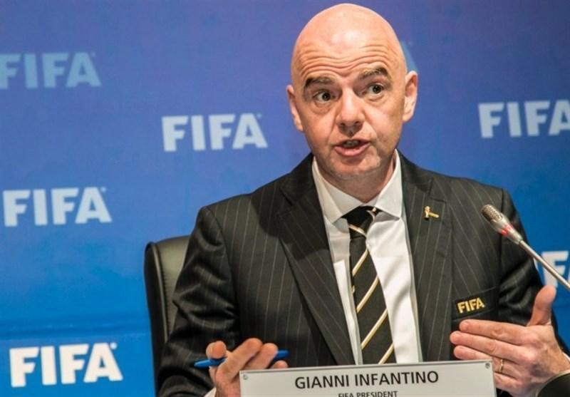 اینفانتینو: فوتبال در دنیا پس از موافقت دولت ها شروع می گردد، نمی توانیم سلامتی مردم را به خطر بیندازیم