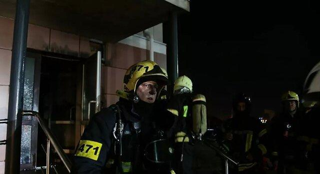 9 کشته در آتش سوزی بیمارستانی در مسکو