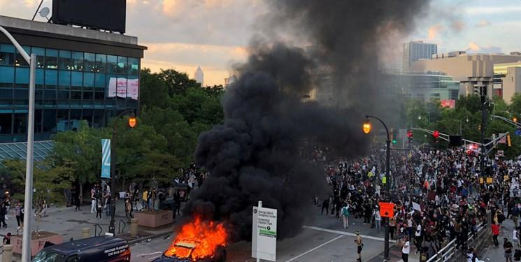 گسترش اعتراضات به خشونت پلیس در آمریکا، اعلام شرایط اضطراری در جورجیا