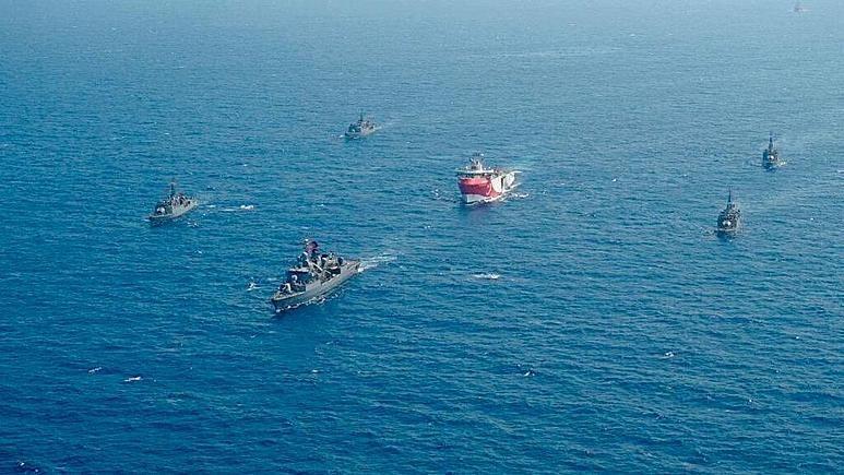 ترکیه رزمایش جدید در مدیترانه شروع کرد