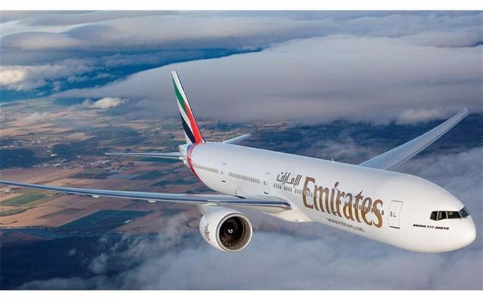 آمریکا هواپیمایی امارات را به خاطر استفاده از آسمان ایران جریمه کرد