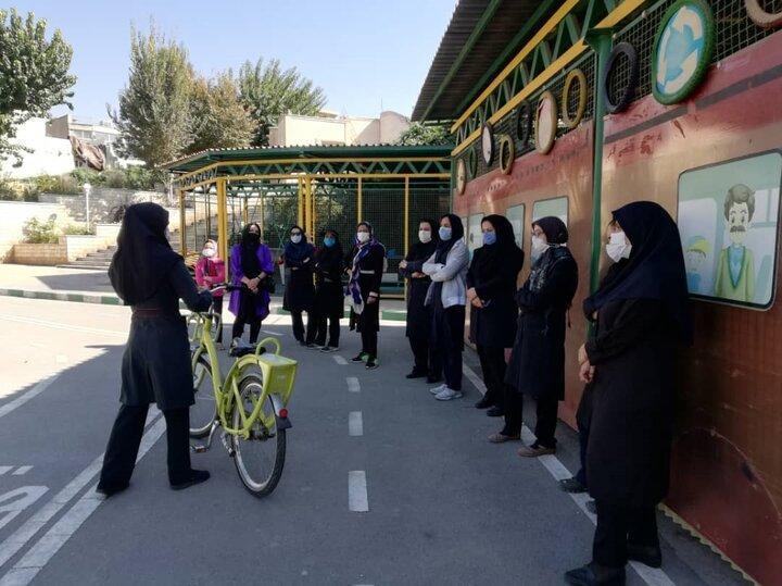 برگزاری دوره آموزش دوچرخه سواری به زنان