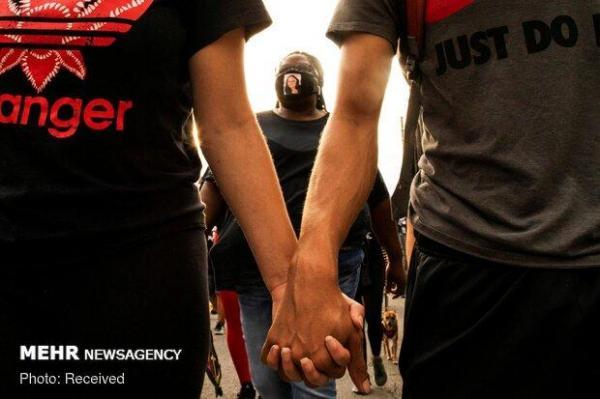 اعتراضات ضد نژادپرستی در آمریکا بار دیگر شروع شد