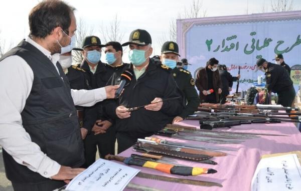 خبرنگاران دستگیری 103 اراذل و اوباش در طرح اقتدار 2 پلیس غرب استان تهران