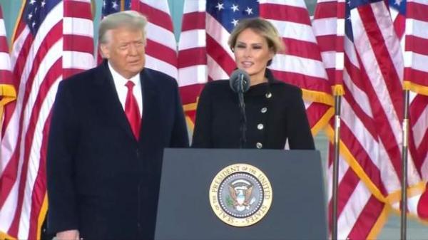 ترامپ در روز تحلیف، از ترک کاخ سفید تا پیگیری مراسم تحلیف در هواپیما