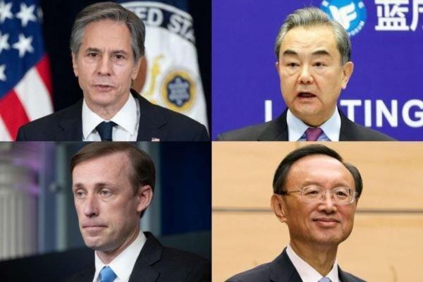 برگزاری نخستین ملاقات مقامات دیپلماتیک آمریکا و چین در آلاسکا
