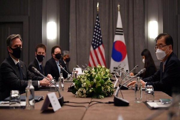ملاقات وزرای خارجه آمریکا و کره جنوبی در لندن