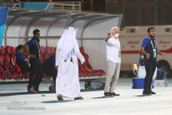 جنجال قطری ها و حرکت زشت مدیر دشداشه پوش علیه استقلال