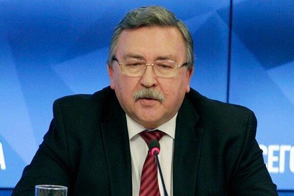 اولیانوف با هیئت های آمریکا و اروپا درباره برجام گفتگو کرد