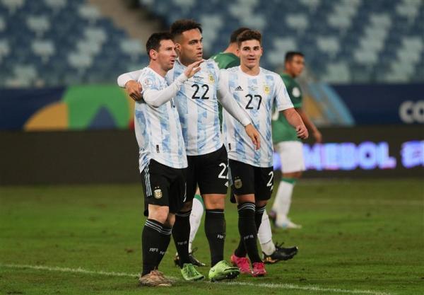 کوپا آمه ریکا 2021، فزونی اروگوئه و صعود آرژانتین در شب رکوردشکنی مسی، برزیل حریف شیلی شد