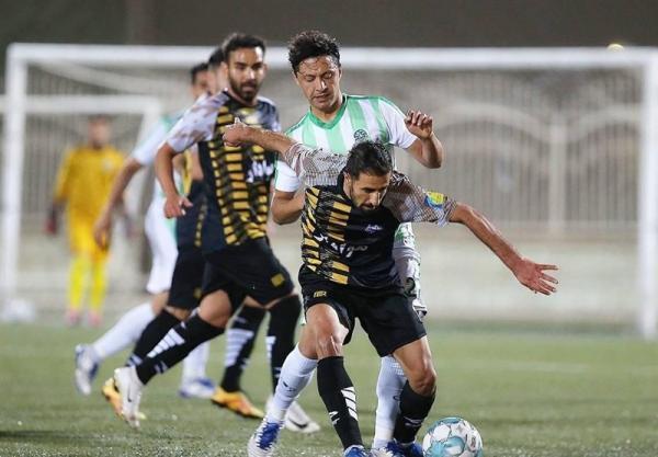 رقابت 5+2 تیم برای صعود به لیگ برتر فوتبال، تهران ، جنوب در جهت سعادت + جدول