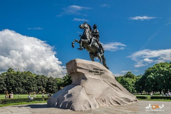 تندیس پتر کبیر ، نماد سن پترزبورگ، عکس
