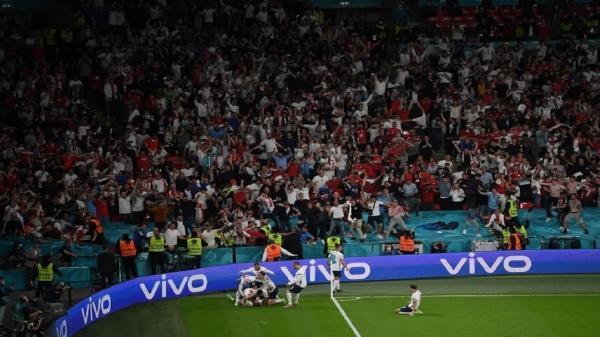تیم ملی فوتبال انگلیس برای اولین بار به فینال جام ملت های اروپا صعود کرد