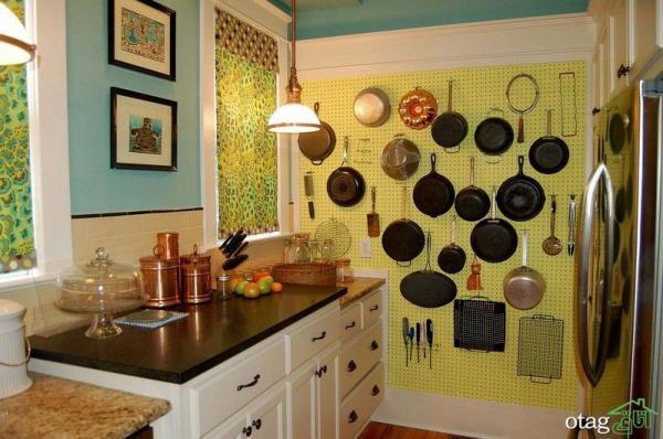 راه چاره های خلاقانه برای چیدمان آشپزخانه کوچک و نقلی