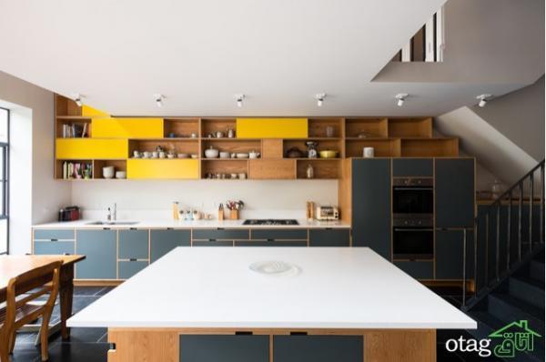 10 ایده فوق العاده دکوراسیون داخلی آشپزخانه مدرن از طراحان عظیم جهان