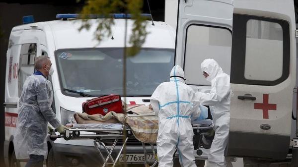 مرگ 820 نفر دیگر در روسیه بر اثر ابتلا به کرونا